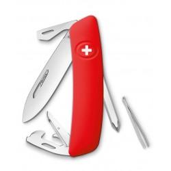 Нож перочинный SWIZA D04, красный